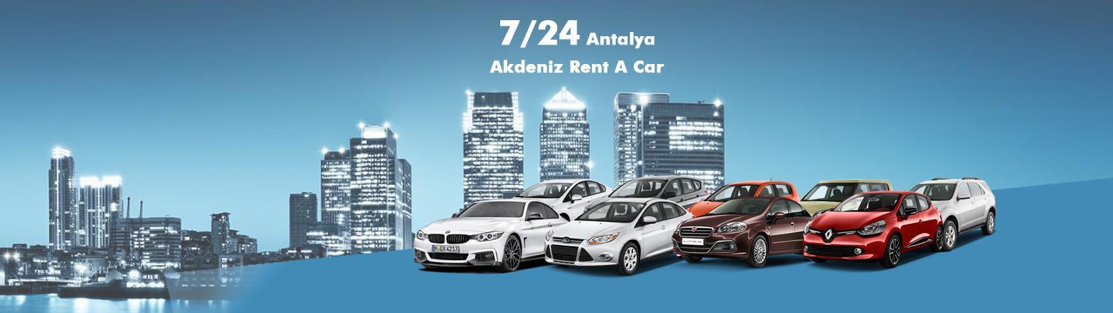 Akdeniz Rent A Car Uygun Fiyatlara Ekonomik Dizel Araçlarla